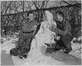 Corporal. Bernard Butnik, Cleveland Heights, Ohio, and Sergeant. Richard Goodbar, Russellville, Arkansas, offer... - NARA - 531240.tif