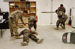 Corpsmen, soldiers teach ANA medics en route care 130415-M-CT526-905.jpg