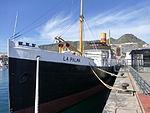 """Correíllo """"La Palma"""", vapor del año 1912, conservado en Santa Cruz de Tenerife.JPG"""