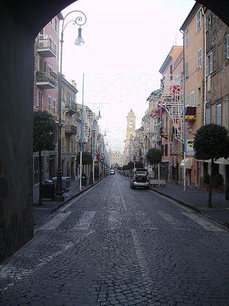 Marino, Lazio - View of the city.