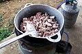 Costillas de cerdo en un caldero (1240781097) Quesada, Alajuela, Costa Rica.jpg