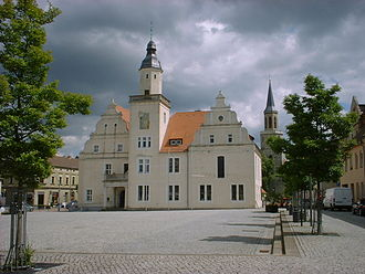 Coswig, Anhalt - Image: Coswig town hall