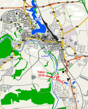 Course of 2010 UCI Cyclo-cross World Championships Tabor CZ.png