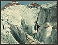 Crevasse formation in Illecillewaet Glacier, Selkirk Mountains-LCCN2008679647.jpg