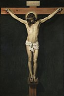 Cristo crucificado (1639), de Diego Velázquez, Museu do Prado, Madrid.