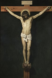 Diego Velázquez, Cristo crocifisso, 1631, olio su tela (248 x 169 cm), Madrid, Museo del Prado.