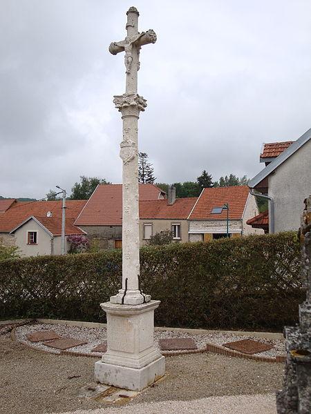 Croix de cimetière de Verseilles-le-Bas (Inscrit)