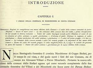 Baldassarre Bonaiuti - Image: Cronaca Fiorentina introduction