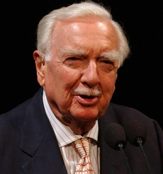 Walter Cronkite love quotes and sayings