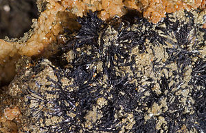 Cronstedtite - Cronstedtite - Salsigne Mine - France