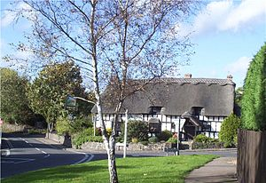 Cropston - Image: Cropston Crossroads 2005 10 25 005b
