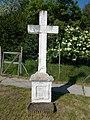 Cross at Vasút Street, Biatorbágy, Hungary.jpg