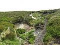 Cross drain erosion - geograph.org.uk - 1382027.jpg