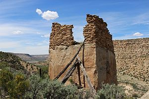 Aztec, New Mexico - Crow Canyon Pueblito Ruin