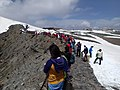 Crowds at Changbai Crater Rim - panoramio.jpg