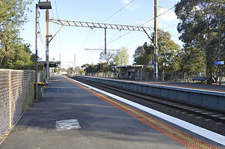 Croxton railway station railway station in Northcote, Melbourne, Victoria, Australia