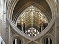 Crucifixion on the crossing arch Wells Cathedral. - panoramio.jpg