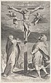 Crucifixion with the Virgin Mary and Saint John the Evangelist Met DP885889.jpg