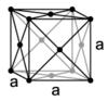 Kristallstruktur von Neon