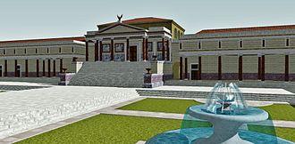 Curia of Pompey - Image: Curia Pompey