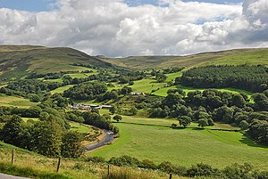Cwmystwyth - Image: Cwmystwyth by Nigel Brown