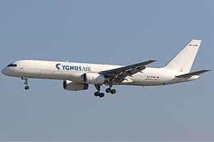 Cygnus Air Boeing 757 Stegmeier.jpg