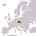 Czech Republic Denmark Locator.png