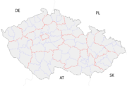 Czech Republic districts
