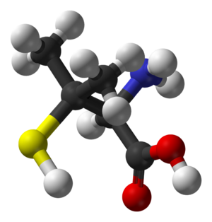 Penicillamine - Image: D Penicillamine 3D balls