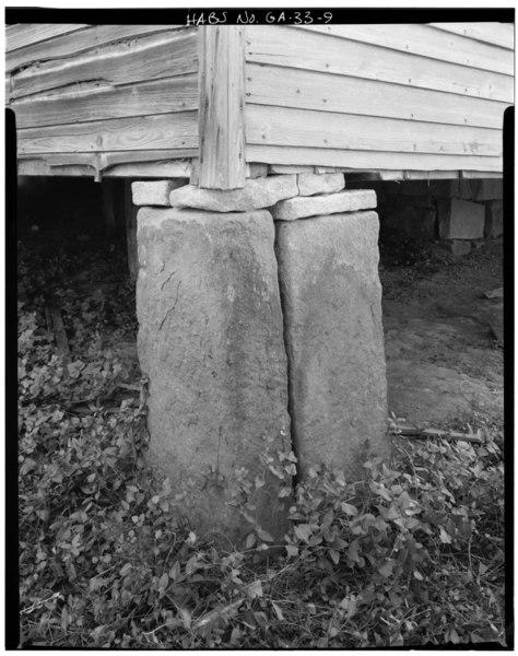 Granite Block Home : File detail of granite foundation block grogan house