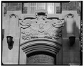 DETAIL OF WEST (MAIN) ENTRANCE - U. S. Military Academy, East Academic Building, West Point, Orange County, NY HABS NY,36-WEPO,1-25-8.tif
