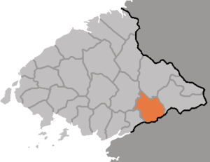 Nyongbyon County - Image: DPRK Pyongbuk Nyongbyon