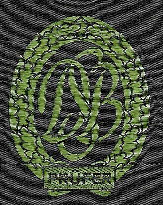 German Sports Badge - German Sports Badge of a judge.