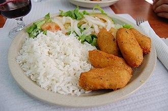 """Portuguese cuisine - Pastéis de bacalhau (literally """"codfish pastries"""")"""