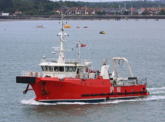 Diving support vessel - The 2015 launched DSV Curtis Marshall