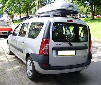 Automotive industry in Romania - Dacia Logan MCV