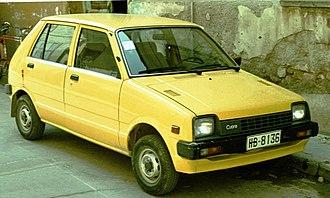 Daihatsu Mira - Five-door, L55 Daihatsu Cuore (in Greece)