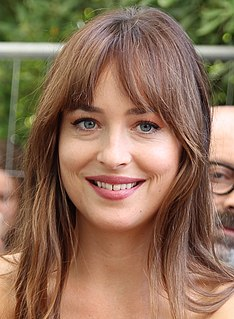 Dakota Johnson American actress and model