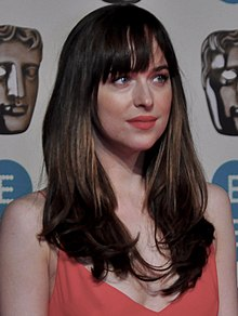 Dakota Johnson at BAFTA 2016 (cropped).jpg