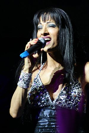 Dana International - Dana International became a famous singer after winning Eurovision.