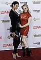 Dana Vespoli and Aiden Starr at AVN Awards 2016 (26398701180).jpg