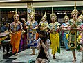 Dance offering at Erawan Shrine, Bangkok (32844253793).jpg