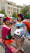 Dancing to the music with Sister Sound at Lexington Pride Festival 2015.jpg