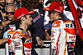 Dani Pedrosa and Marc Márquez 2015 Valencia.jpeg