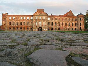 Dargun Palace - Dargun Palace, entrance front