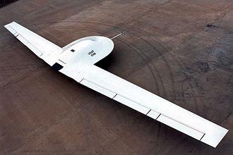 Lockheed Martin RQ-3 DarkStar - Overhead view