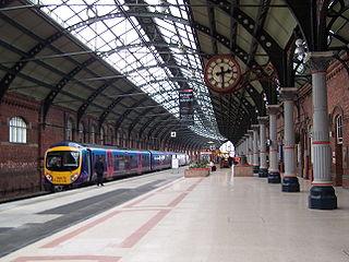Darlington railway station East Coast Mainline railway station in the Borough of Darlington