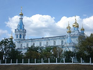 Daugavpils - Ss Boris and Gleb Orthodox Cathedral – the biggest Orthodox church in Latvia