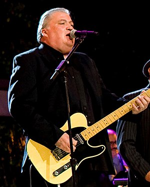 David Hidalgo - Hidalgo performing with Los Lobos on the South Lawn of the White House, October 13, 2009