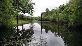 Randolph County, Arkansas - Lake in Davidsonville Historic State Park